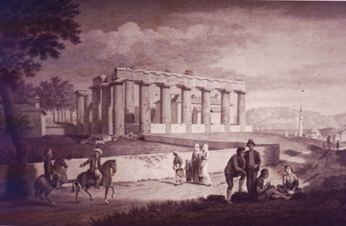 Stuart and Revett, 1751; Courtesy of the Gennadius Library, American School of Classical Studies at Athens