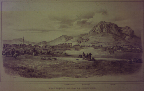 Von Stackelberg, 1810; Courtesy of the Corinth Excavations, American School of Classical Studies at Athens