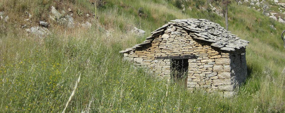 An example of vernacular architecture from the Parrhasian Heritage Park