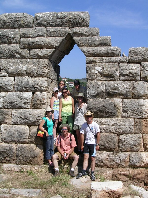 Fig. 17: Team visiting ancient city of Messene.