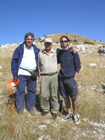 Fig. 15: Christos Koumoundouros, Elias Stasinos, and Nikos Koumoundouros.