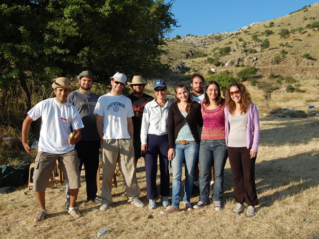 Fig. 5: Greek students from the University of the Peloponnese, Kalamata.