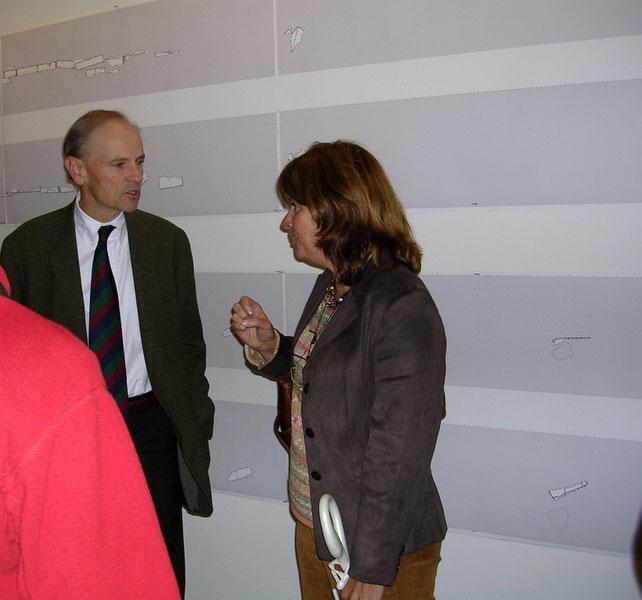 Fig. 3: David Romano and Mary Voyatzis.