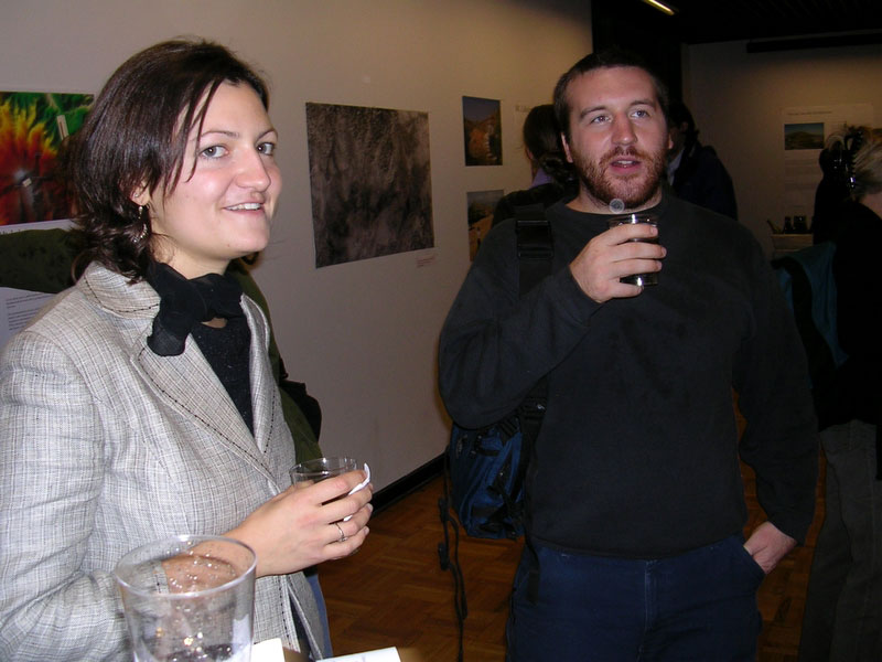 Fig. 9: Ximena Valle and Dave Pacifico.