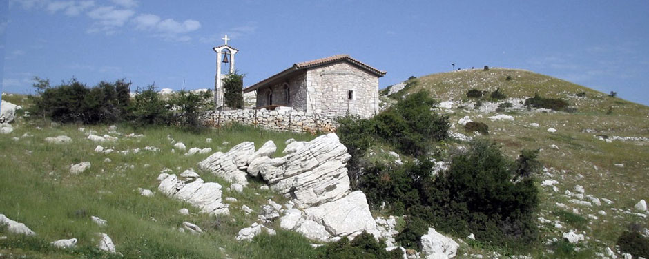 The church on Mt. Lykaion