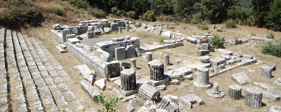 The park includes many internationally recognized archaeological sites like the Temple at Lykasoura